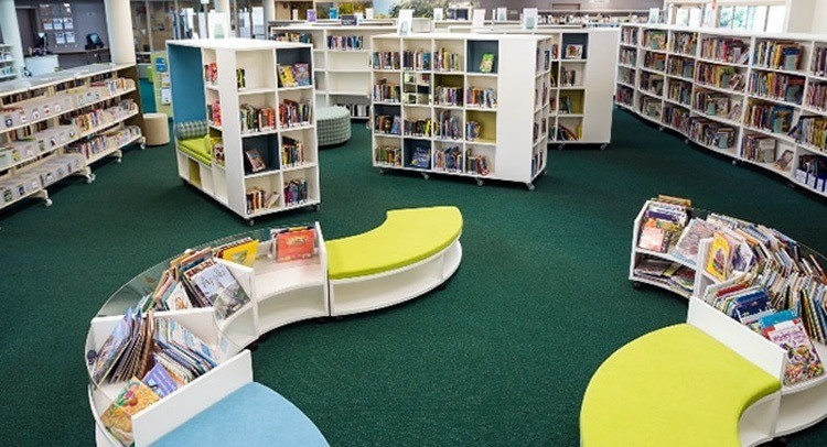 Children's play area Kawana Library