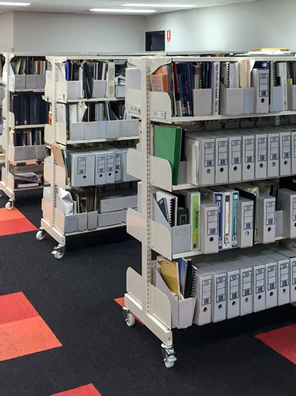 Archive Library Shelving
