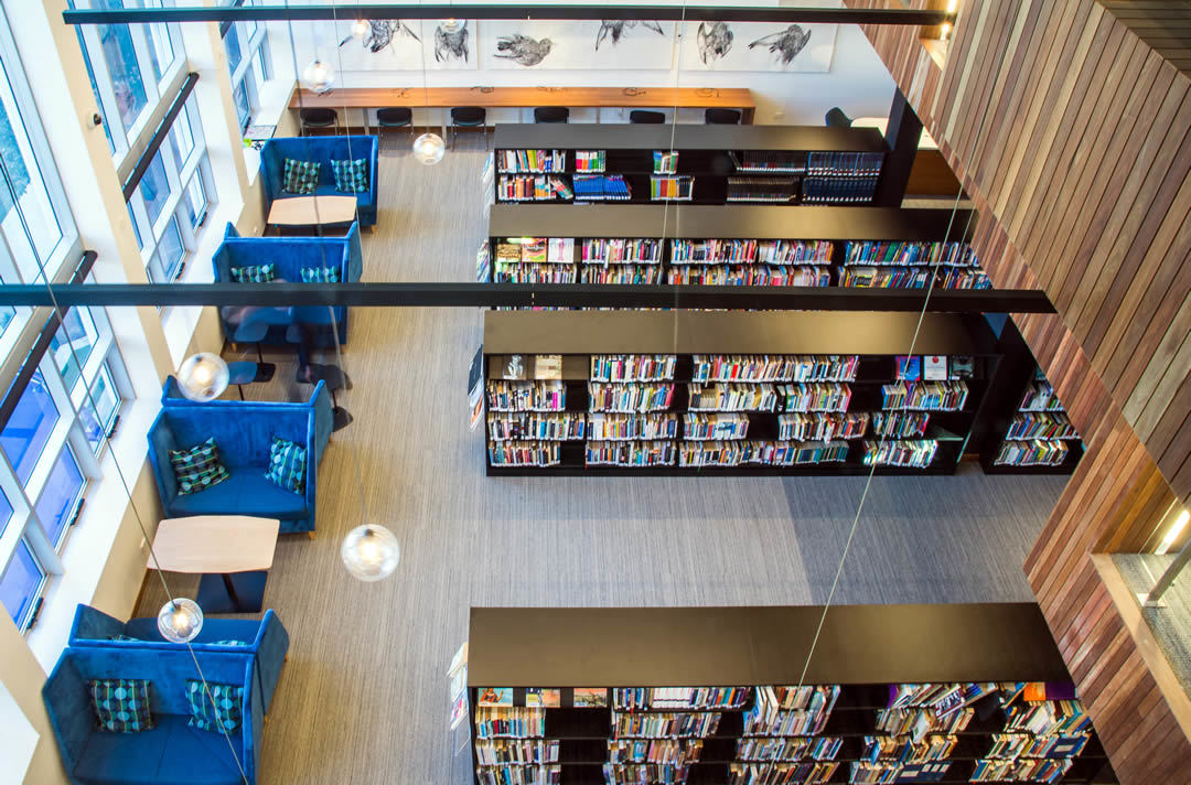 Modern Library Fit-out and Design