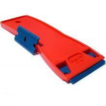 Plastic Razor Blade tool for removing labels