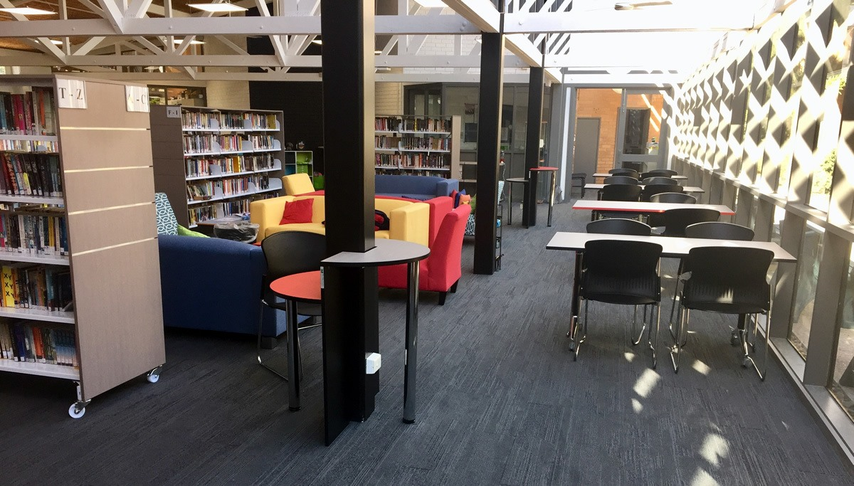 Avilla College School Library Fitout