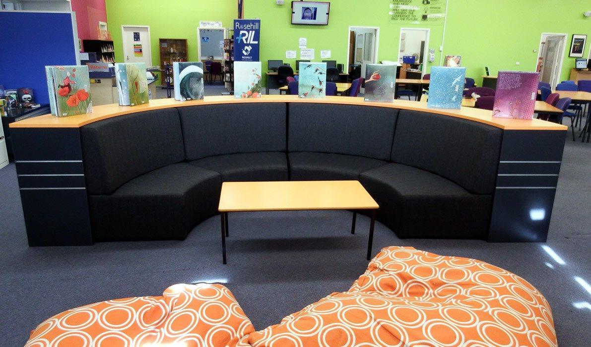Custom Bench Seat and Bookshelf