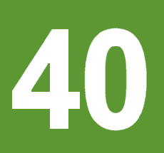 Digit 40 Graphic