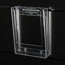 A5 Brochure Holder for QWall or Slatwall BH8020FBCL