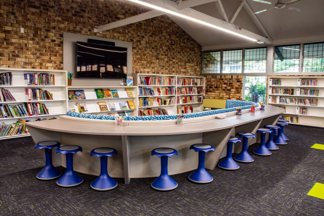 Custom Library Fit-out