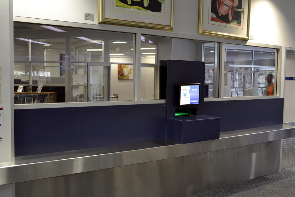 Library Self Service Terminal