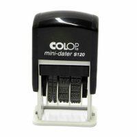 S120 Mini Dater - Date Stamp Black Colour