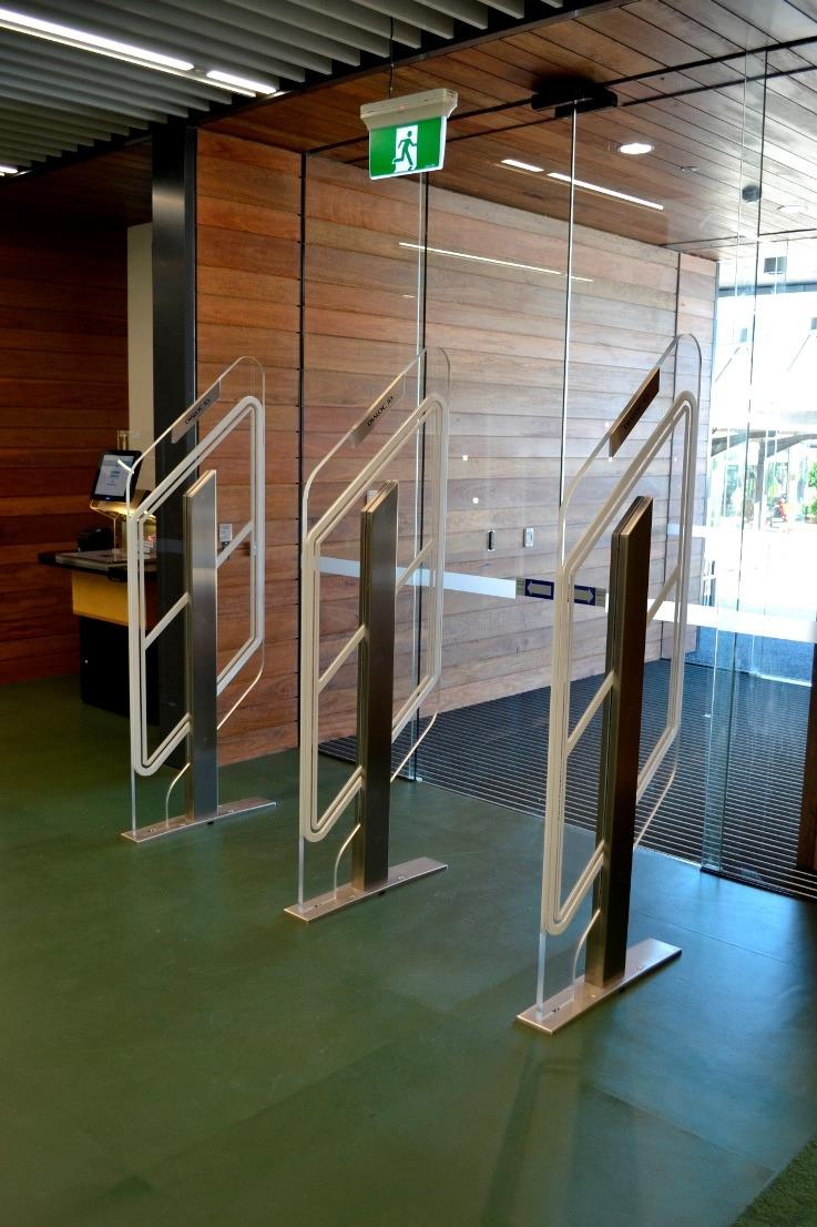 Premium Security Gates Dual Isle