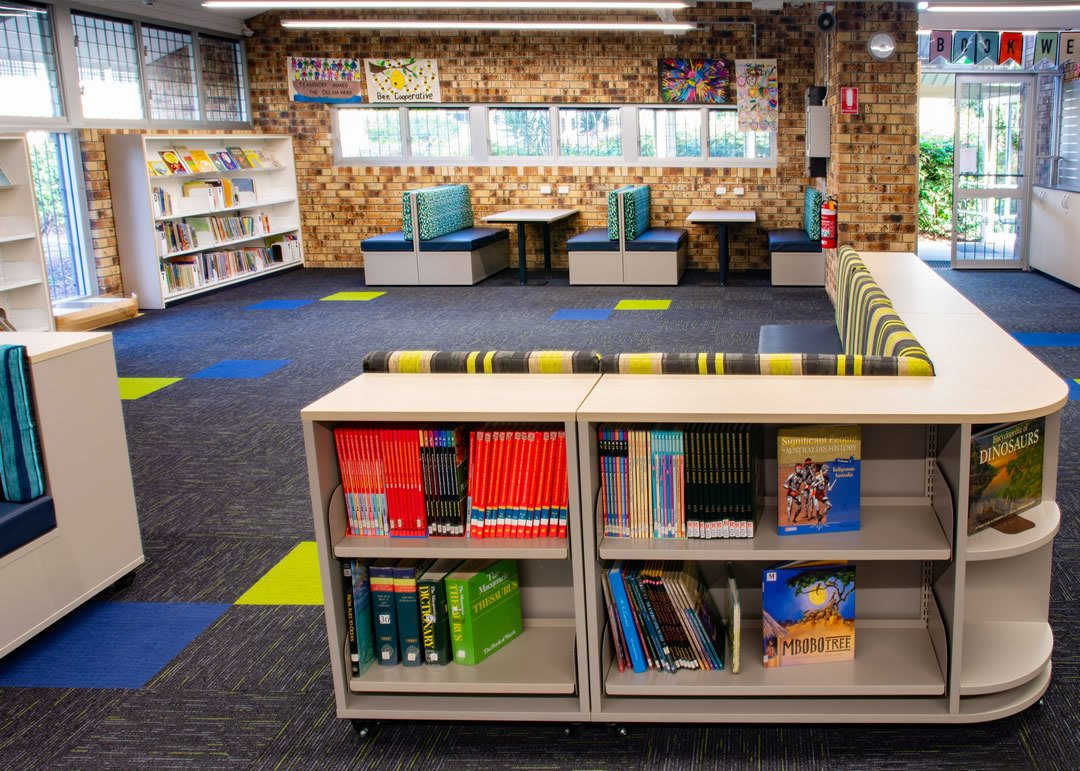 Shelving and Seating Combination