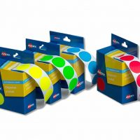 Coloured Dot Stickers