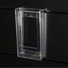 Trifold Brochure Holder for Slatwall or QWall FB8210FBCL