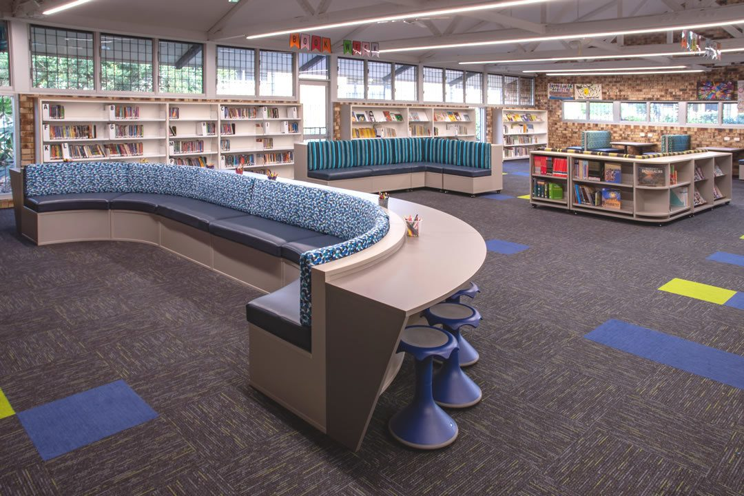 Woodridge North School Library
