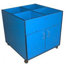 Blue Easy Reading Box