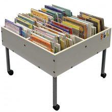 Beech Easy Reading Box with Castors