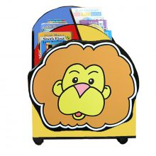 Lion Character Multi-Colour Easy Reading Box