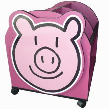 Pig Character Easy Reading Box