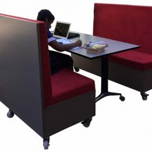 Mobile Bench and Booth Seating for School Students