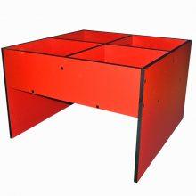 Red Easy Box Slab End