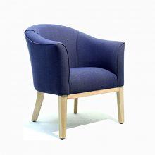 Milan Lounge Chair Blue