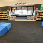 Northbridge Easy Boxes with custom picture book storage and reader seat