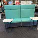Northbridge Sterling Straight Combination Seating with Laptop Tables