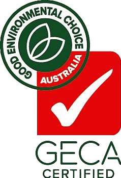 Good Environmental Choice Australia Certified Logo GECA