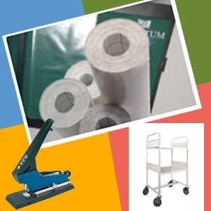 book processing and consumable stock