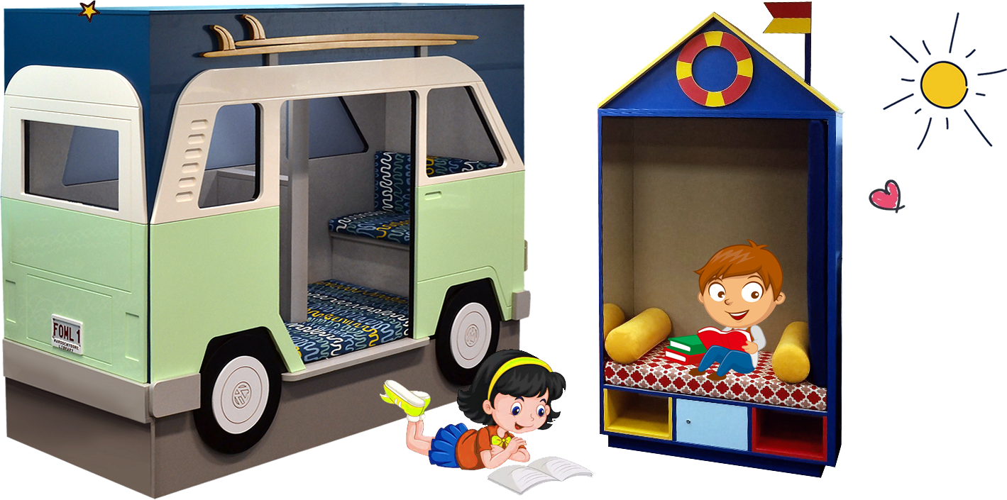 Reading Nooks and Cubbies for Libraries