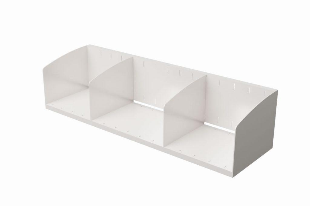 Metal Shelf Divider Set