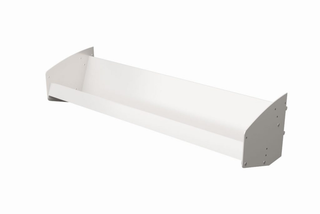 Faceout Display Metal Component