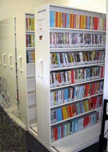 Integrated Floor System IFS Shelving