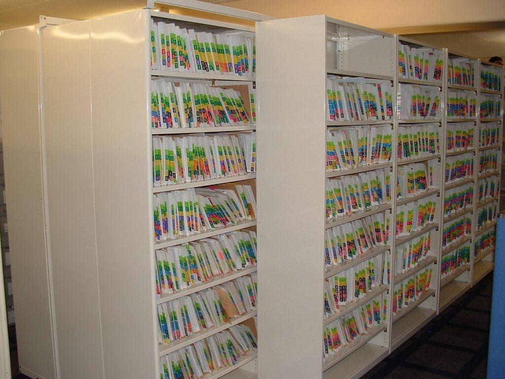 Shuttle Shelving Document Storage