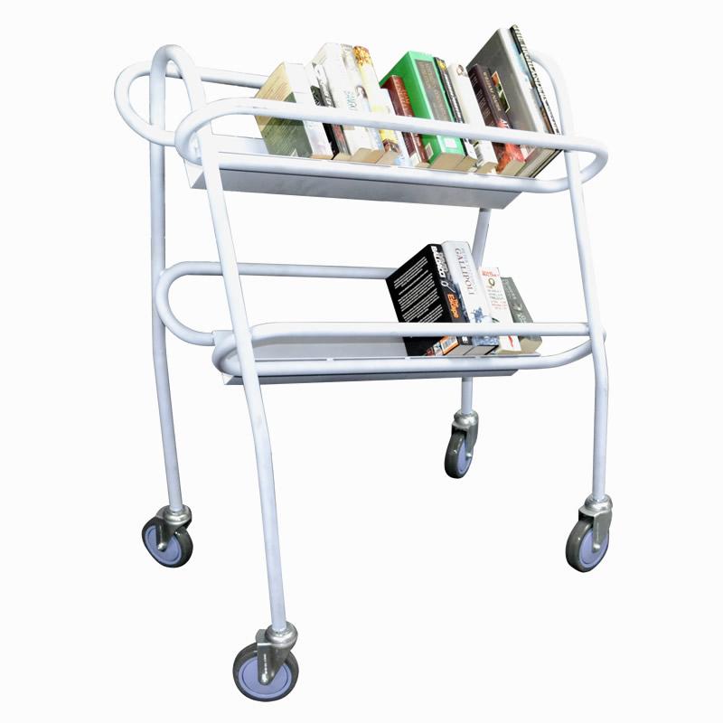 Gravity Fed Book Trolley TRGFTB