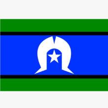 Torres Strait Flag Genre Label LASLTSF