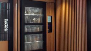Lib Cabinet Self Serve Library Kiosk at Ipswich