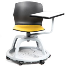 College Chair with Fabric Seat Pad