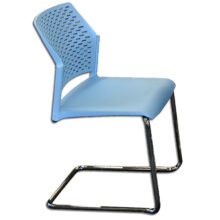 Rewind Chair with Sled Base