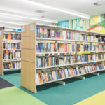 Chermside Double Side Metal Shelving with End Panels