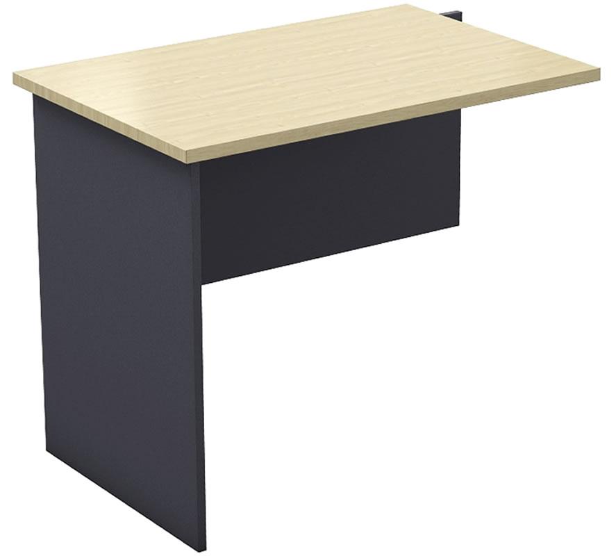 Desk return no drawer