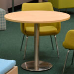 Disc Table with Annette Chair