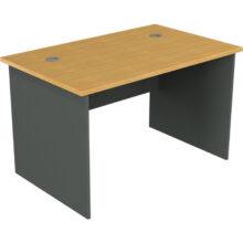 Straight Desk Beech on Ironstone
