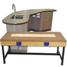 Education Workbenches Home Economics, Science Laboratory and Manual Arts