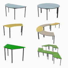 Shaped Tables